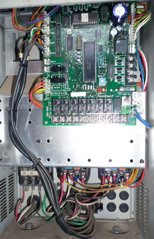テラル AX-LAT402-51.5D 定圧式 加圧給水ポンプユニット 制御盤