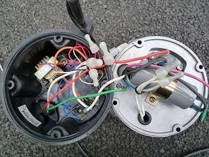 川本製作所 WUP-505-0.4SL 上部蓋を取り外したところ