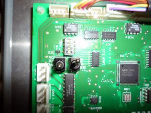 テラル:SX-65VFC404-3.7W×3 制御基板 ディップスイッチ