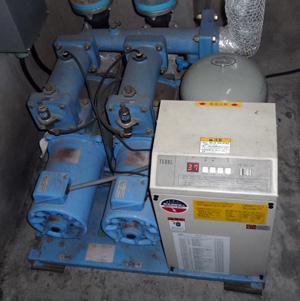 テラル AX-PCL403-52.2D 減圧弁式 給水ポンプ