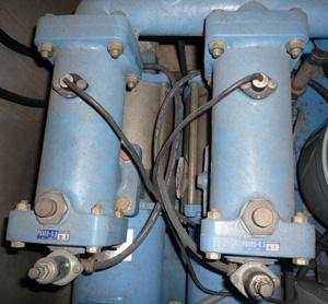 テラル AX-PCL403-52.2D 減圧弁式 給水ポンプ PRAバルブ