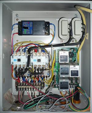 川本製作所:ECF3-2.2-APC ポンパーGN 制御盤