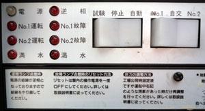エバラ:IRGS2.75S 操作パネル左側