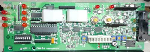 KP111 エバラ:IRGS2.75S 制御基板 操作パネル