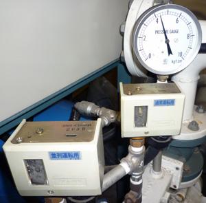 テラル 80VF-65×50H55.5 圧力スイッチ 圧力ゲージ