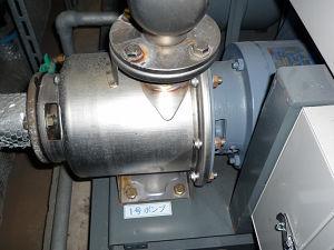 エバラ 50BNEMD7.5B 給水ポンプ接続部